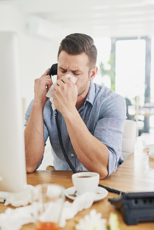 Employee calling off sick